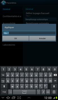 Samsung P3100 Galaxy Tab 2 7-0 - Internet - configuration manuelle - Étape 23