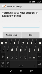 HTC Desire 320 - Email - Manual configuration - Step 7