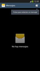 Samsung Galaxy S4 - Mensajería - Configurar el equipo para mensajes de texto - Paso 4