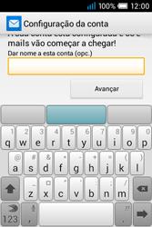 Alcatel POP C1 - Email - Adicionar conta de email -  8