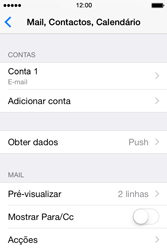 Apple iPhone 4S iOS 8 - Email - Configurar a conta de Email -  15