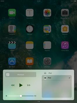 Apple iPad mini 4 iOS 10 - iOS features - Centre de contrôle - Étape 9