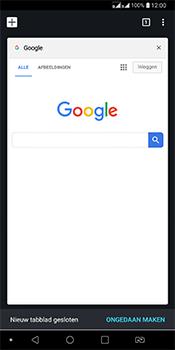 LG Q7 - Internet - Hoe te internetten - Stap 18