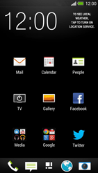 HTC One - E-mail - Manual configuration - Step 4