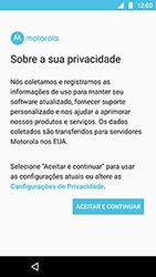 Motorola Moto X4 - Primeiros passos - Como ativar seu aparelho - Etapa 9