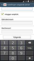 Samsung I9301i Galaxy S III Neo - E-mail - handmatig instellen - Stap 14