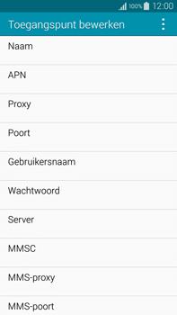 Samsung Galaxy Note 4 (N910F) - Internet - Handmatig instellen - Stap 10