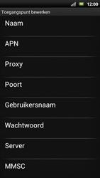 Sony Ericsson Xperia Neo met OS 4 ICS - Internet - Handmatig instellen - Stap 11