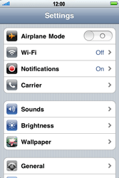 Apple iPhone 4 S - Network - Usage across the border - Step 3