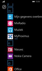 Nokia Lumia 635 - Applicaties - MyProximus - Stap 10