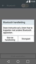 LG Leon 3G (LG-H320) - Bluetooth - Aanzetten - Stap 4