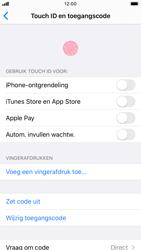 Apple iPhone 6s - iOS 13 - Beveiliging - stel in of wijzig pincode voor je toestel - Stap 8