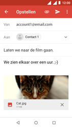 Nokia 1 - E-mail - e-mail versturen - Stap 14