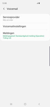 Samsung Galaxy S10 - Voicemail - handmatig instellen - Stap 10
