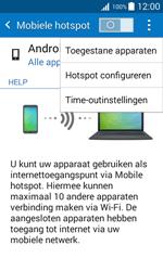 Samsung Galaxy J1 (SM-J100H) - WiFi - Mobiele hotspot instellen - Stap 8