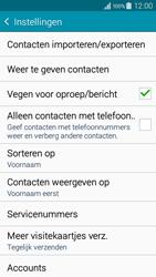 Samsung A300FU Galaxy A3 - Contacten en data - Contacten kopiëren van SIM naar toestel - Stap 7