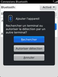 BlackBerry 9810 Torch - Bluetooth - Jumeler avec un appareil - Étape 8