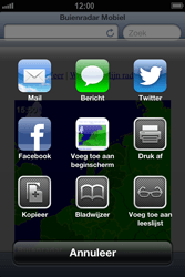 Apple iPhone 4S met iOS 6 (Model A1387) - Internet - Hoe te internetten - Stap 10