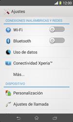 Sony Xperia Z3 - Funciones básicas - Activar o desactivar el modo avión - Paso 4