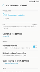 Samsung Galaxy J3 (2017) - Internet - activer ou désactiver - Étape 6