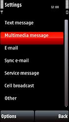 Nokia 5800 Xpress Music - Mms - Manual configuration - Step 21