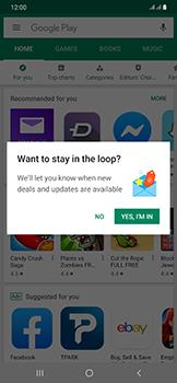 Samsung Galaxy A50 - Applications - Create an account - Step 20