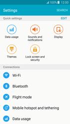 Samsung J500F Galaxy J5 - WiFi and Bluetooth - Manual configuration - Step 4
