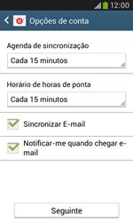 Samsung Galaxy Trend Plus - Email - Configurar a conta de Email -  17