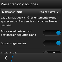 BlackBerry Q5 - Internet - Configurar Internet - Paso 17