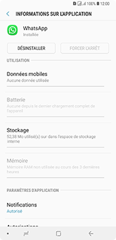 Samsung Galaxy A7 2018 - Applications - Supprimer une application - Étape 6