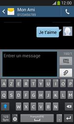 Samsung Galaxy Ace 3 - Contact, Appels, SMS/MMS - Envoyer un SMS - Étape 11