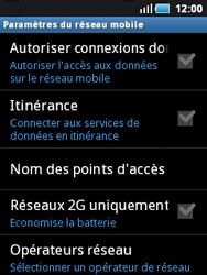 Samsung S5570 Galaxy Mini - Internet - activer ou désactiver - Étape 6