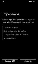 Nokia Lumia 635 - Primeros pasos - Activar el equipo - Paso 6