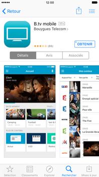 Apple iPhone 6s Plus - Photos, vidéos, musique - Regarder la TV - Étape 2