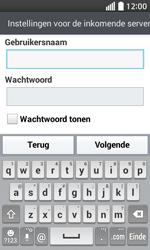 LG Optimus L70 (LG-D320n) - E-mail - Handmatig instellen - Stap 13