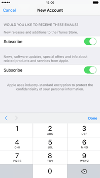 Apple iPhone 6s Plus - Applications - Create an account - Step 16