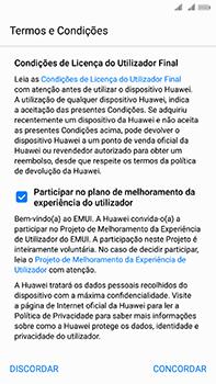 Huawei Mate 10 - Primeiros passos - Como ligar o telemóvel pela primeira vez -  7