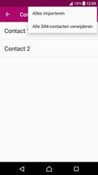 Sony xperia-x-compact-f5321-android-nougat - Contacten en data - Contacten kopiëren van SIM naar toestel - Stap 8