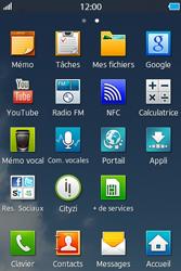 Samsung Wave M - Internet et connexion - Naviguer sur internet - Étape 3