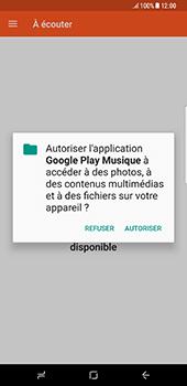 Samsung Galaxy S8+ - Photos, vidéos, musique - Ecouter de la musique - Étape 5