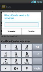 LG Optimus L5 II - Mensajería - Configurar el equipo para mensajes de texto - Paso 8