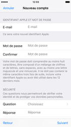 Apple iPhone 6s iOS 10 - Applications - Créer un compte - Étape 12
