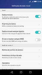 Huawei Y6 - Internet no telemóvel - Como ativar 4G -  5