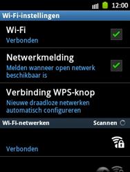 Samsung S5300 Galaxy Pocket - WiFi - Handmatig instellen - Stap 10
