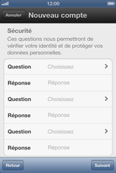 Apple iPhone 4 S - Applications - Créer un compte - Étape 9