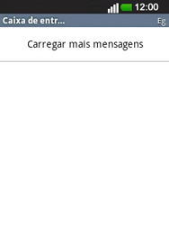 LG E400 - Email - Configurar a conta de Email -  26