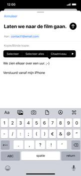 Apple iPhone XR - iOS 13 - E-mail - Bericht met attachment versturen - Stap 9