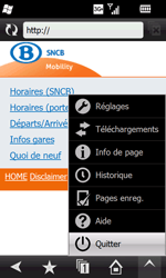 Samsung I8000 Omnia II - Internet - navigation sur Internet - Étape 15