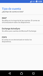 Sony Xperia XZ - Android Nougat - E-mail - Configurar correo electrónico - Paso 10