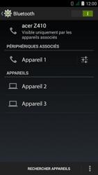 Acer Liquid Z410 - WiFi et Bluetooth - Jumeler votre téléphone avec un accessoire bluetooth - Étape 8
